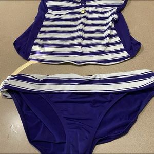 La Blanca Swim - 2pc Tankini set size 16 by La Blanca